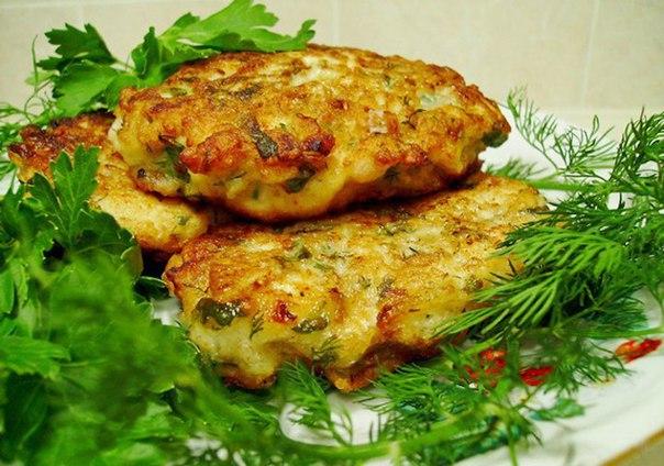 Котлеты из риса с сыром и нори