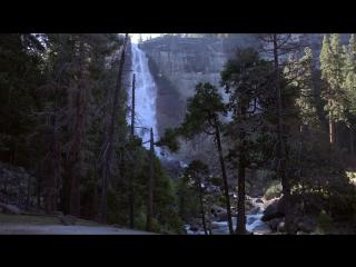 Hiking Half Dome, Yosemite National Park, USA in 4K (Ultra HD).