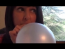 SugarSweetz - (ASMR)Bubble Gum Balloon Blow and Stiletto Nail POP