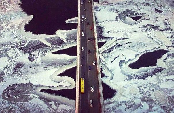 Невероятная красота. Камский мост.