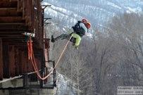 23 марта 2014 - Самарская область: Зимние прыжки с тарзанки на Сокском мосту