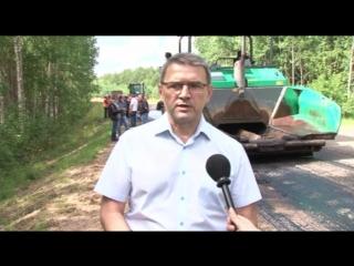 В Тверской области идёт ремонт подъездных путей к истоку Волги и Ниловой пустыни.