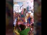 ленточное шоу в детском саду