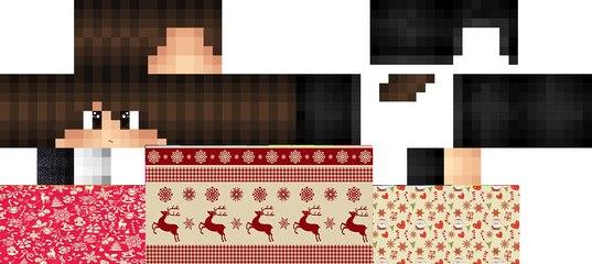 рождественские скины майнкрафт #1