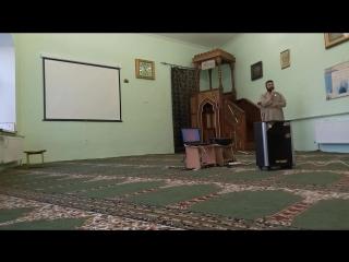Выступление имама Дамурали  на мероприятии