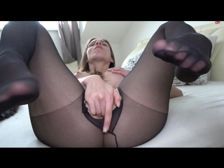 join. And have knee high pantyhose sex here against