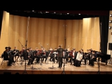И.С. Бах Три органные хоральные прелюдии (Es, g, G), дирижер Руслан Канеев.
