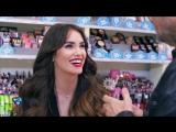Mirá a Lali Esposito vendiéndole maquillajes a Tinelli