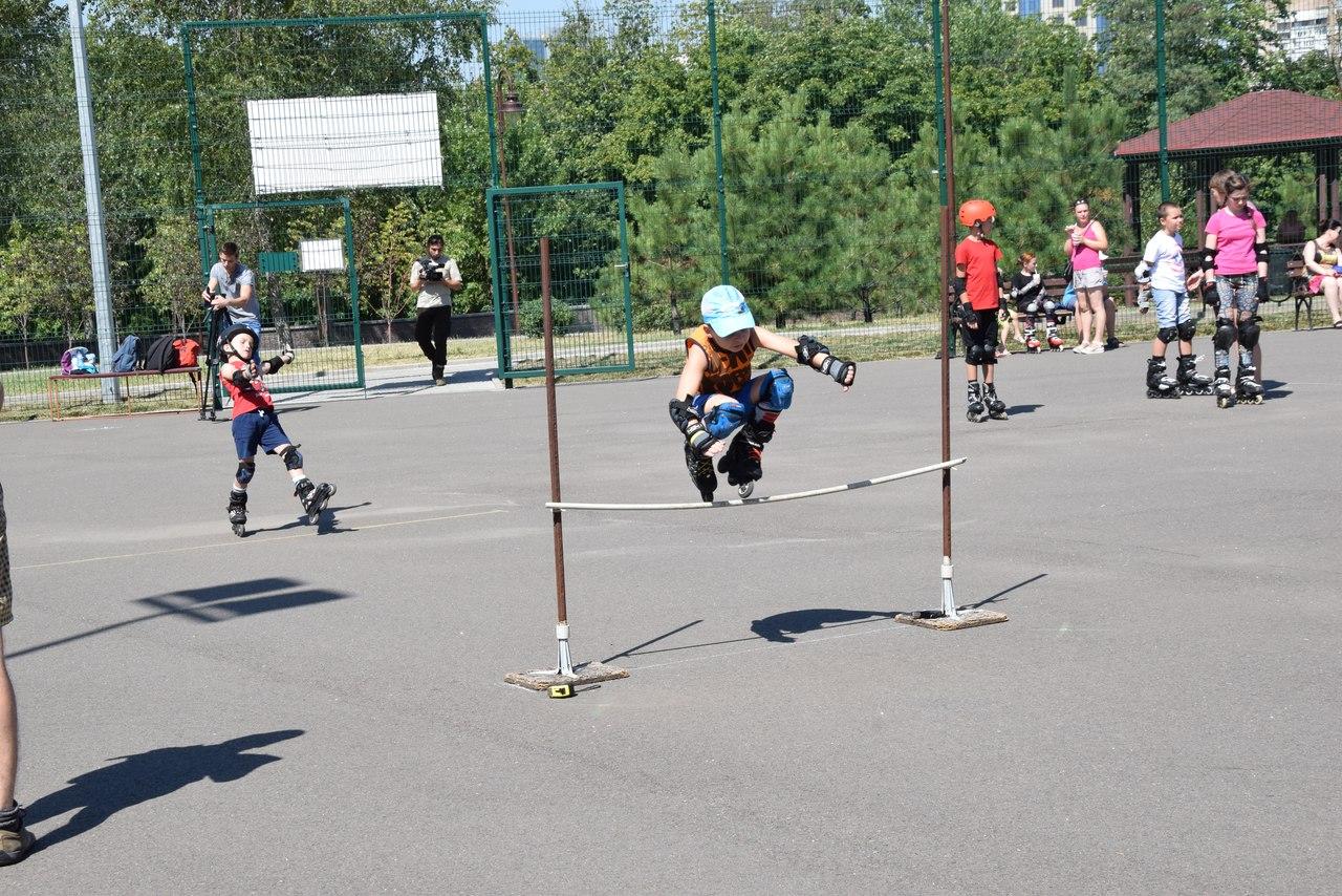 Отчёт о детских соревнованиях по роллер спорту 12.08.2017