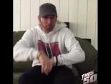 Поздравление 50 Cent от Eminemа