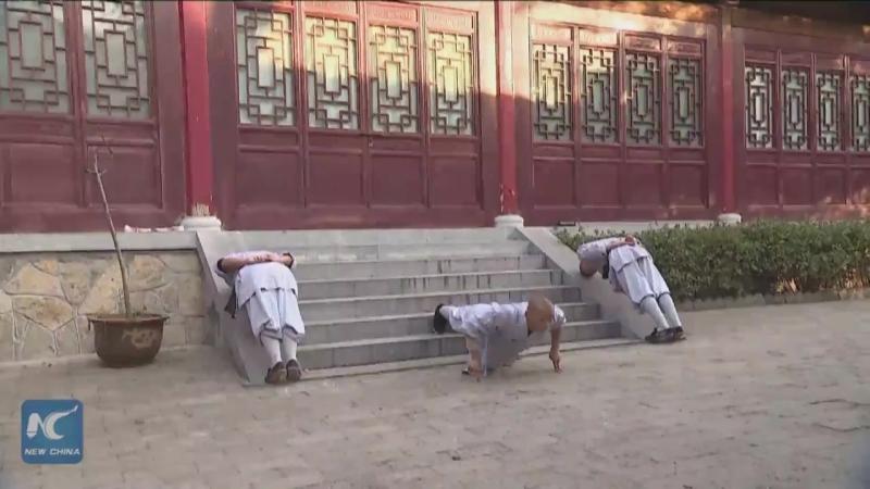Утренняя зарядка по-шаолиньски. Провинция Хэнань