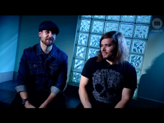 Bastille Interview - Will and Woody (MUZO.TV)