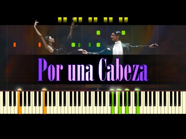 Por una Cabeza (Piano) - Tango CARLOS GARDEL