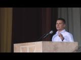 Виступ делегата «Національного корпусу» Дениса Котенко «Шкіпер». Презентація програми партії.
