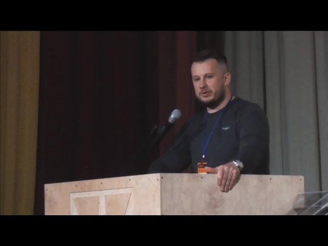 Виступ Андрія Білецького на першому зїзді партії «Національний Корпус»