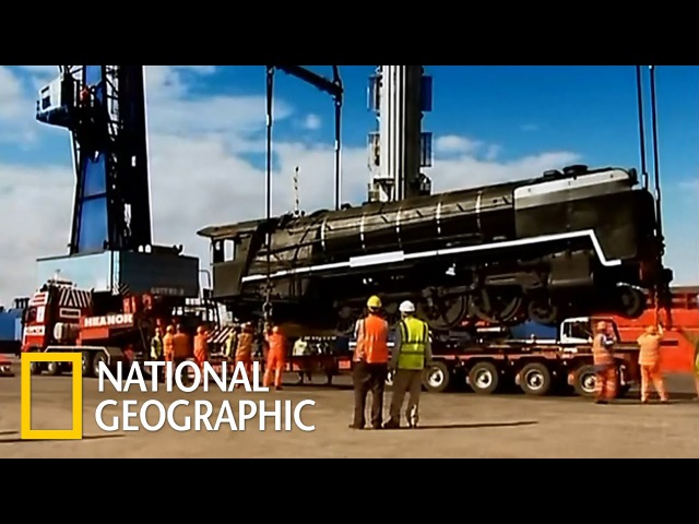 Грандиозные переезды: 100-тонный поезд (National Geographic)