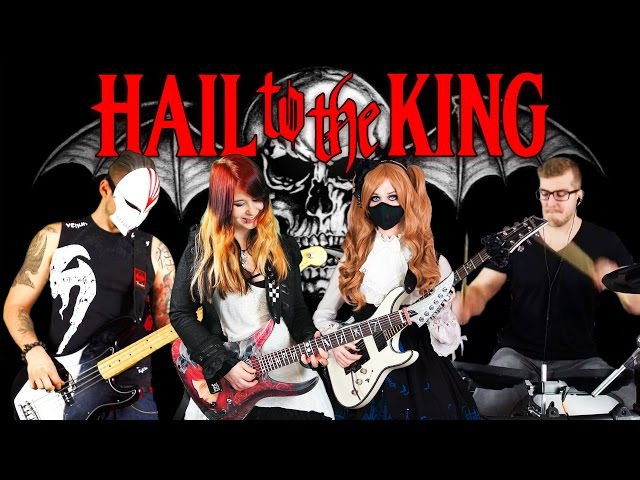 AVENGED SEVENFOLD Hail To The King COVER INSTRUMENTAL 4K Jassy J BabySaster DeSade Kri