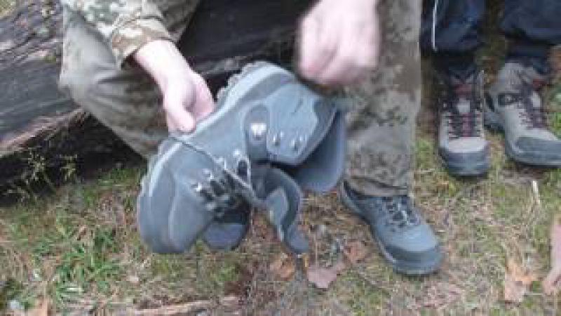 Треккинговые ботинки ТНВ «Evans» Обзор и первый тест.