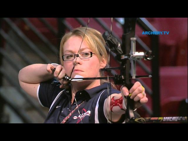 Linda Ochoa v Christie Colin – compound women's bronze final |Las Vegas 2012 Indoor Worlds
