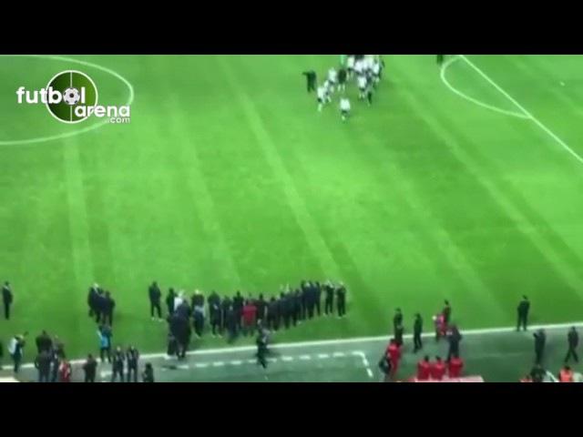 Beşiktaşlı futbolcular galibiyeti böyle kutladı