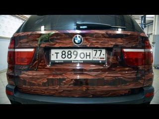 БМВ/BMW X5 E70. Потратили на ремонт 210 тысяч рублей и довели до идеала.Лиса Рулит.