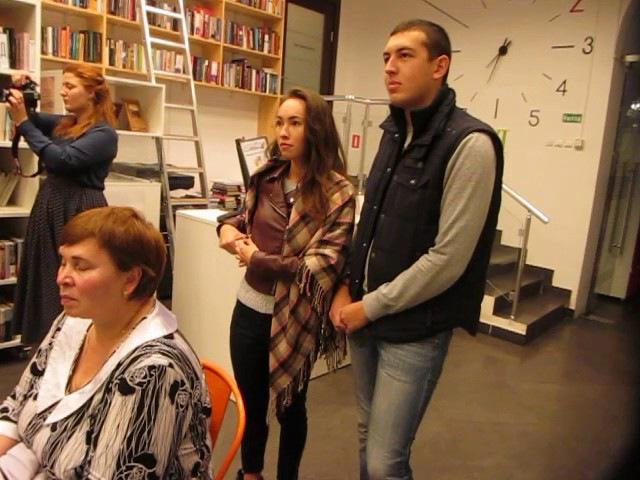 Библиотека Н.В Гоголя ,декабрь 2015 ,хор им.Г.М.Сандлера