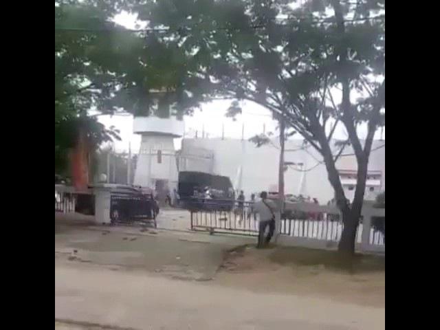 Video amatir lepasnya tahanan dari Rutan Sialang Bungkuk, Pekanbaru