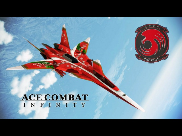 Ace Combat Infinity: XFA 27 -Happy Holidays- 11Lv MSTM NTDM Pipeline Destruction
