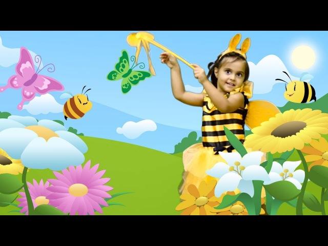 Arı Vız Vız Şarkısı 🐝🐝🌺 Meryem'le ÇocukŞarkıları Türkçe ve Dansları! AnimasyonFilmi. ÇizgiFilm