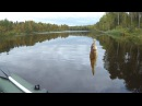 Рыбалка в Карелии- Мега ерш на р Свят -17 09 2017 -Часть -1