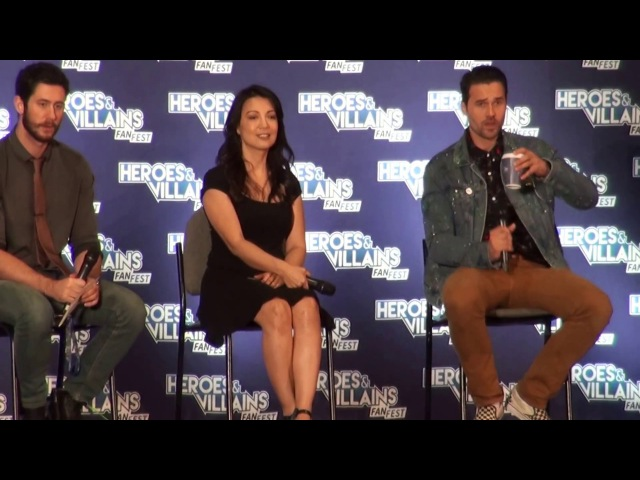 Нэшвилл 2017 | Ming-Na Wen Brett Dalton Nashville HVFF Melinda May Grant Ward Marvel's Agents of SHIELD