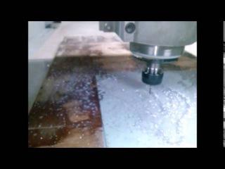 Шпиндель 2.2 квт с охлаждением водой Пробуем фрезеровать алюминий