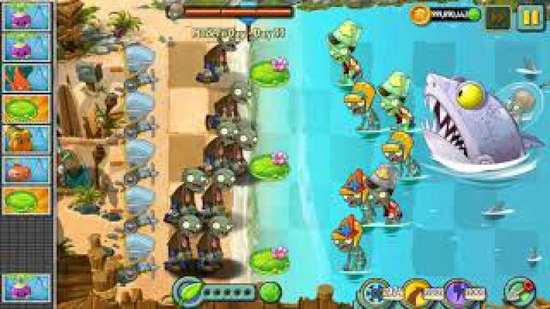 Plants vs Zombies 2 Epic Hack! 9999 Zombies vs Dr Zomboss