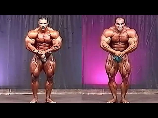 Kevin Levrone Vs Nasser El Sonbaty | 1996 Video Comparison.