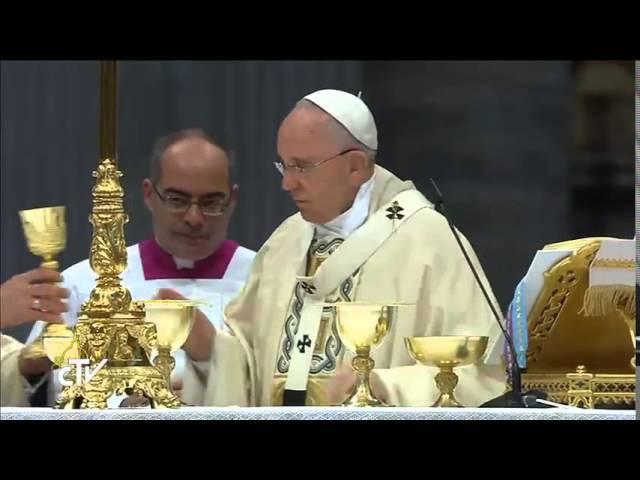 Armenian Duduk during Holy Mass for the faithful of Armenian Rite 2015 04 12