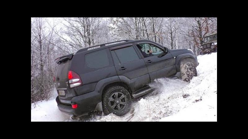Крутой Подъем [Toyota Prado vs Mitsubishi Pajero Sport vs Nissan Pathfinder vs УАЗ vs Нива] off-road