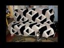 Вяжем вместе плед 3D Стильная геометрия №1 ч.2