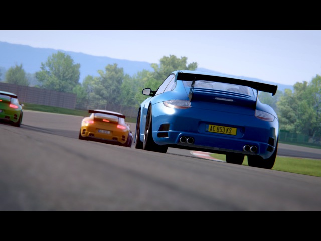 Assetto Corsa / Xbox One / RUF RT12R RWD / Race / No Assist