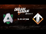 Alliance  vs Escape #1 (bo2) | DreamLeague Season 6, 18.10.16