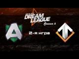 Alliance vs Escape #2 (bo2) | DreamLeague Season 6, 18.10.16