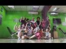 Танцювальне тренування Живи танцюючи в ФітКёрвс Мукачево Майстер клас