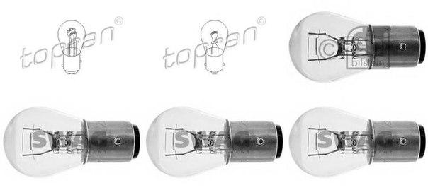 Лампа накаливания, фонарь сигнала тормож./ задний габ. огонь для BMW 02 кабрио (E10)