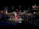 Лезгинка в фонтане на открытии курортного сезона в Архипо-Осиповке..