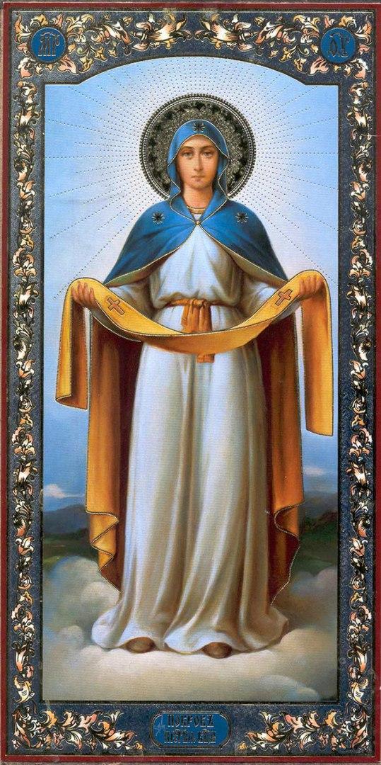 Внимание! Чтение акафиста Покрову Божией Матери переносится на понедельник на 16ч.15мин.