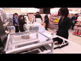Технологии в японском супермаркете