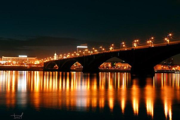 Доброй ночи, Сибирь! Спокойных снов, любимый город!