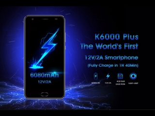 OUKITEL K6000 Plus product video