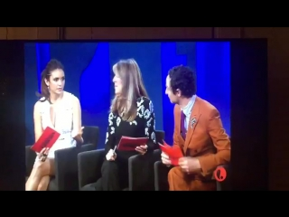Нина Добрев на Проекте Подиум   Видео от фаната