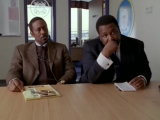 Lester and Bunk Interrogating crew from the ship in The Wire