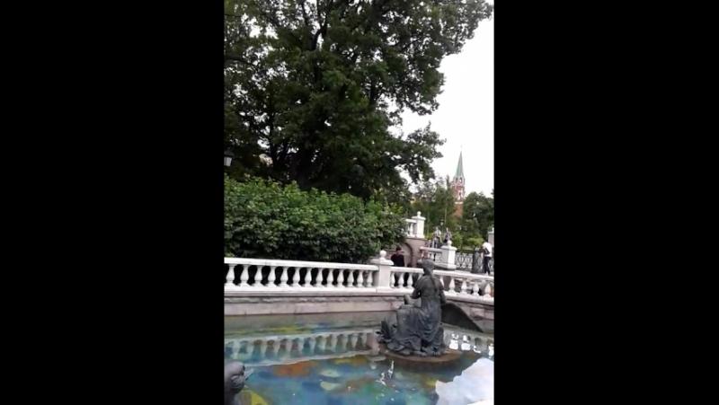 Александровский сад и его водная составляющая